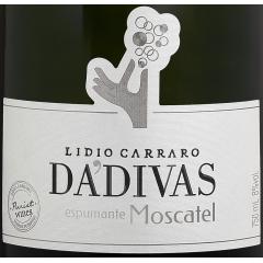 Espumante Lidio Carraro Dádivas Moscatel 750ml