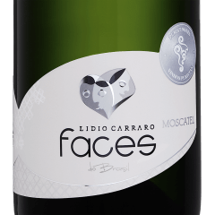 Espumante Lidio Carraro Faces do Brasil Moscatel 750ml