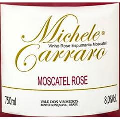 Espumante Michele Carraro Moscatel Rosé 750ml