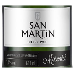 Espumante Panizzon San Martin Moscatel Branco 660ml