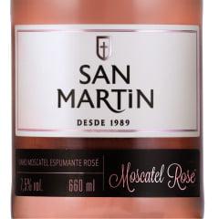 Espumante Panizzon San Martin Moscatel Rosé 660ml