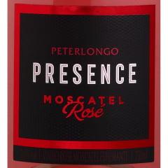 Espumante Peterlongo Presence Moscatel Rosé 750ml