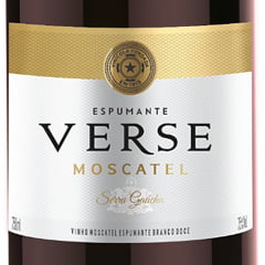 Espumante Peterlongo Verse Moscatel Branco 750ml