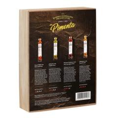Kit Casa Madeira C/ 4 Molhos de Pimenta de 50ml cada