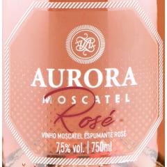 Kit Espumante Aurora 1 Moscatel Branco + 1 Moscatel Rosé 750ml cada