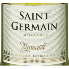 Kit Espumante Aurora Saint Germain Moscatel 660ml C/2 taças