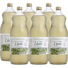 Suco de Uva Peterlongo Branco Integral 1,5Lts C/6