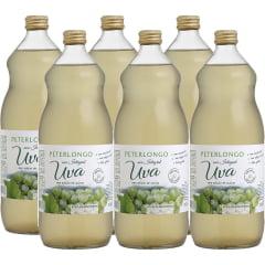 Suco de Uva Peterlongo Branco Integral 1Lt C/6