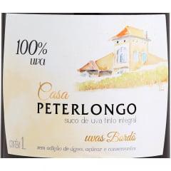 Suco de Uva Casa Peterlongo Tinto Integral 1Lt  C/6