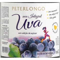 Suco de Uva Peterlongo Tinto Integral 1,5 Lts C/6