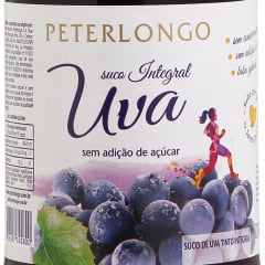 Suco de Uva Peterlongo Tinto Integral 500ml C/12