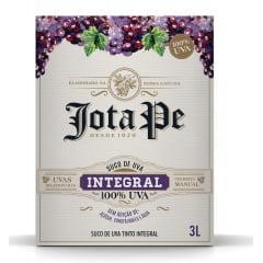 Suco de Uva Casa Perini Jota Pe Bag in Box Tinto Integral 3Lts