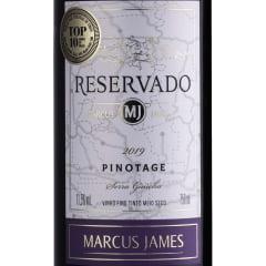 Vinho Aurora Marcus James Pinotage Tinto Meio Seco 750ml