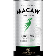 Vinho Casa Perini Macaw Tannat Tinto Demi-Sec 750ml
