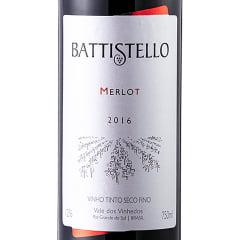 Vinho Battistello Merlot Tinto 750ml
