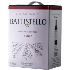 Vinho Battistello Tannat Tinto Bag In Box 3Lts