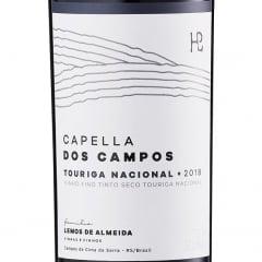Vinho Capella dos Campos Touriga Nacional Tinto 750ml