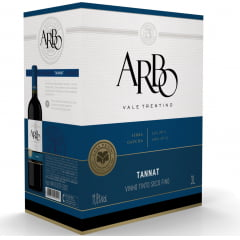Vinho Casa Perini Arbo Tannat Tinto Bag in Box 3Lts