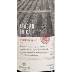 Vinho Casa Perini Fração Única Cabernet Franc Tinto 750ml
