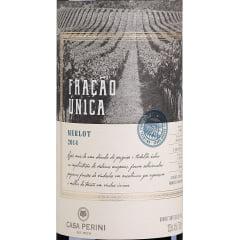 Vinho Casa Perini Fração Única Merlot Tinto 750ml
