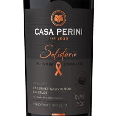 Vinho Casa Perini Solidário Cabernet Sauvignon/Merlot Tinto 750ml