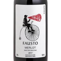 Vinho Fausto Merlot Tinto Seco 187ml