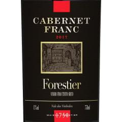 Vinho Forestier Cabernet Franc Tinto 750ml
