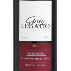 Vinho Gran Legado Assemblage Tinto 750ml