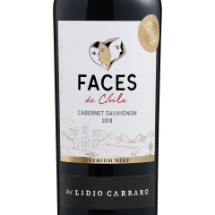 Vinho Lidio Carraro Faces de Chile Cabernet Sauvignon Tinto 750ml