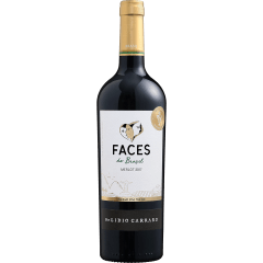 Vinho Lidio Carraro Faces do Brasil Merlot Tinto 750ml