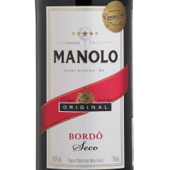 Vinho Peterlongo Manolo Tinto Seco 750ml