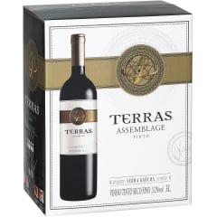 Vinho Peterlongo Terras Assemblage Tinto Bag in Box 3 Lts