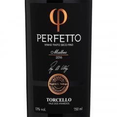 Vinho Torcello Perfetto Malbec 2016 Tinto 750ml