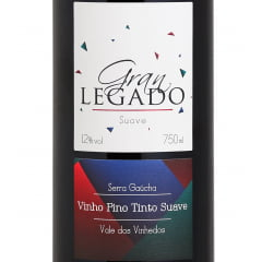Vinho Gran Legado Tinto Suave 750ml