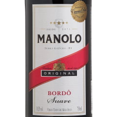 Vinho Peterlongo Manolo Tinto Suave 750ml