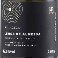 Vinho Família Lemos de Almeida Chardonnay Safra 2019 Branco 750ml