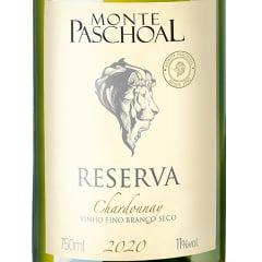 Vinho Monte Paschoal Reserva Chardonnay Branco 750ml