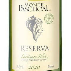 Vinho Monte Paschoal Reserva Sauvignon Blanc Branco 750ml