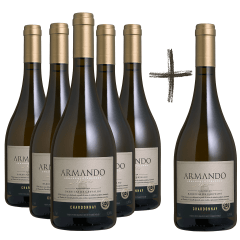 Vinho Peterlongo Armando Memória Chardonnay 750ml - COMPRE 5 LEVE 6