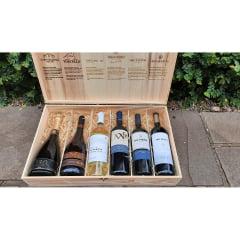 Caixa 1 Edição Comemorativa Uvas & Vinhos 5 Anos
