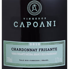 Vinho Capoani Frisante Chardonnay Branco 750ml