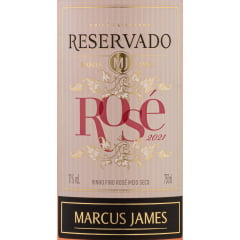 Vinho Aurora Marcus James Rosé Meio Seco 750ml