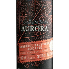 Vinho Aurora Colheita Tardia Tinto e Branco Suave 500ml C/6 de cada