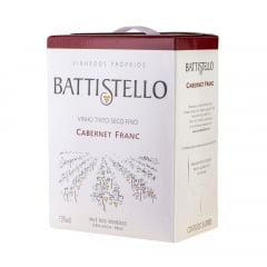 Vinho Battistello Cabernet Franc Tinto Bag In Box 3Lts