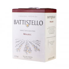 Vinho Battistello Malbec Tinto Bag In Box 3Lts