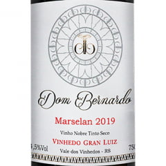 Vinho Dom Bernardo Marselan Safra 2019 Tinto Seco 750ml