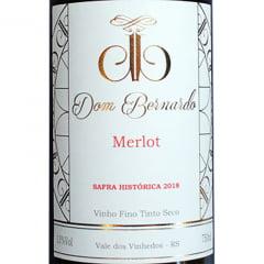 Vinho Dom Bernardo Merlot Tinto 750ml