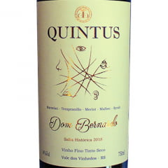 Vinho Dom Bernardo Quintus 2018 Tinto Seco 750ml
