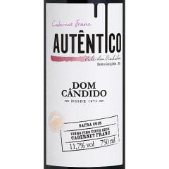 Vinho Dom Cândido Autêntico Cabernet Franc Tinto 750ml