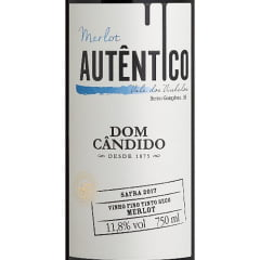 Vinho Dom Cândido Autêntico Merlot Tinto 750ml
